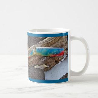 "J & H ""WIG LIT"" Vintage Saltwater Lure Items Classic White Coffee Mug"