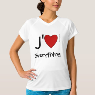 J' Heart (Your Word) Shirt