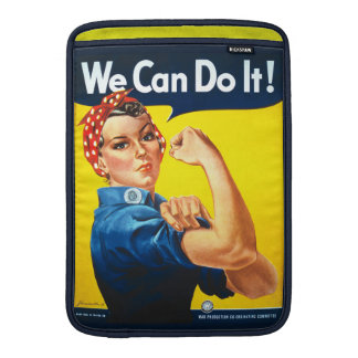 J. Howard Miller We can do it - Rosie the Riveter Sleeve For MacBook Air