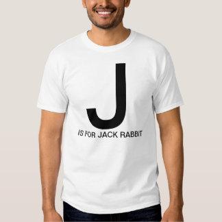J is for Jack Rabbit Shirt