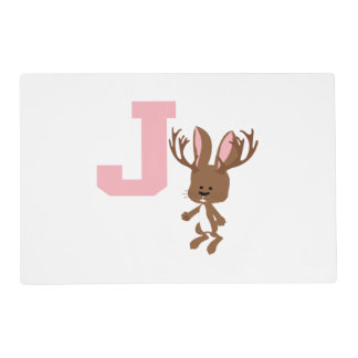 J is for Jackalope Placemat