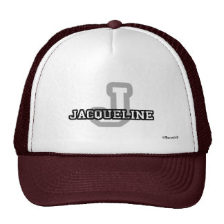 J is for Jacqueline Trucker Hat