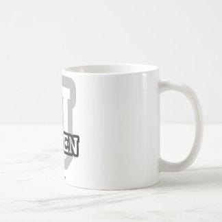 J is for Jaden Coffee Mug