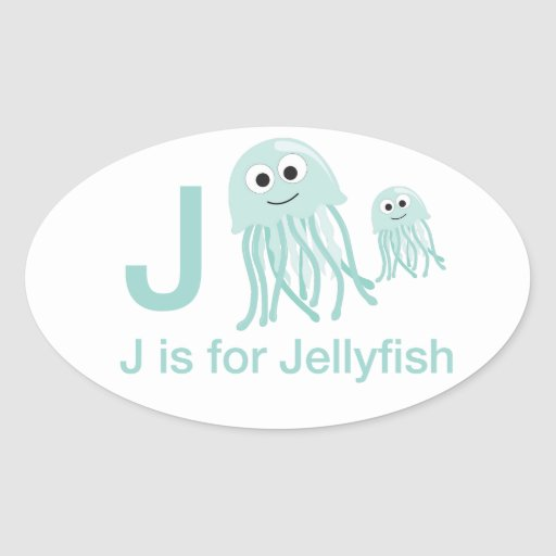 J is for Jellyfish Stickers