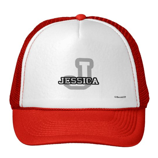 J is for Jessica Trucker Hat