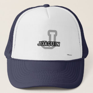J is for Joaquin Trucker Hat