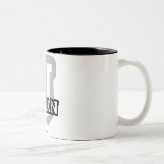 J is for Johan Two-Tone Coffee Mug