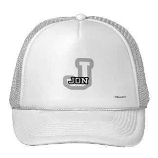 J is for Jon Trucker Hat