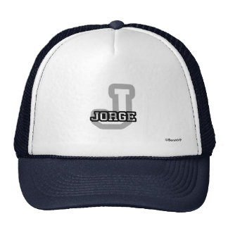 J is for Jorge Trucker Hat