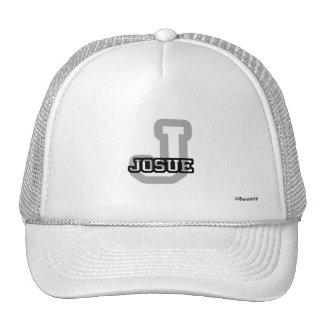 J is for Josue Trucker Hat