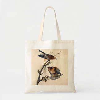 J.J. Audubon (Red Shouldered Hawk) (1829) Tote Bag