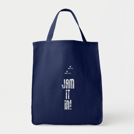 J... J... Jam it in! Dark Tote