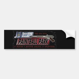 J & J Sporting Goods Paintball Park Bumper Sticker