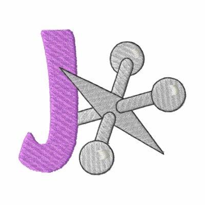 J-Jack Embroidered Hooded Sweatshirt