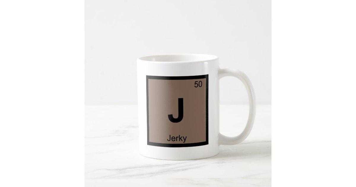 J jerky beef chemistry periodic table symbol coffee mug zazzle urtaz Gallery