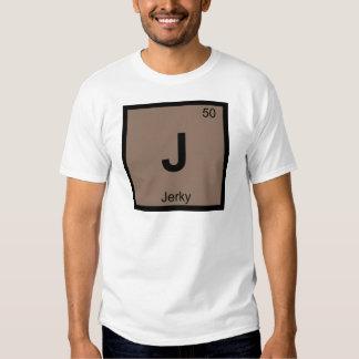 J - Jerky Beef Chemistry Periodic Table Symbol T Shirt