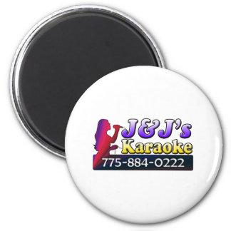 J&J's Karaoke Magnet