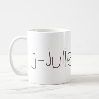J - juliet NATO Coffee Mug