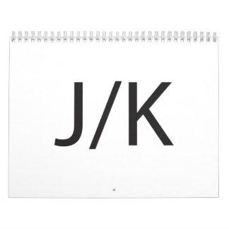 J/K CALENDARS