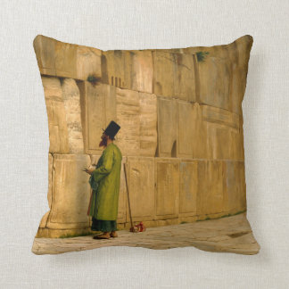 J.L. Gerome - The Wailing Wall Throw Pillow