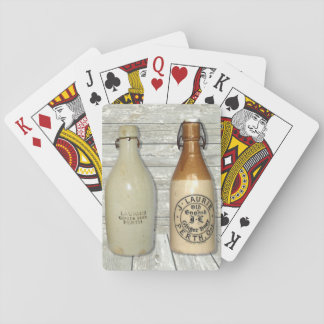 J. Laurie Ginger Beer Perth Ontario Playing Cards