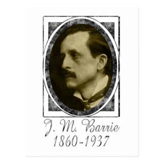 J. M. Barrie Postcard