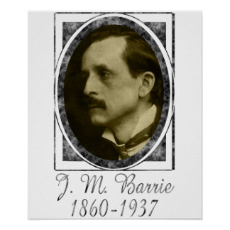J. M. Barrie Poster