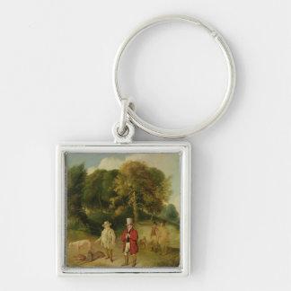 J. M. W. Turner (1775-1851) and Walter Ramsden Faw Keychain