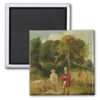 J. M. W. Turner (1775-1851) and Walter Ramsden Faw Fridge Magnet