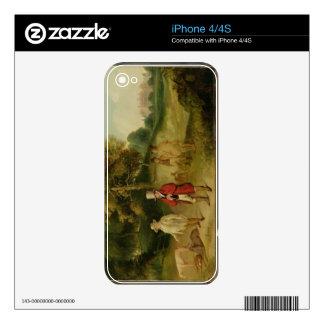 J.M.W. Turner (1775-1851) y Gualterio Ramsden Faw iPhone 4 Skin