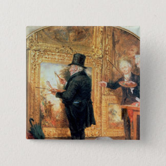 J. M. W.Turner  at the Royal Academy Pinback Button