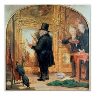 J. M. W.Turner  at the Royal Academy Poster