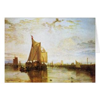 J. M. W. Turner - The Dort 1818 Card
