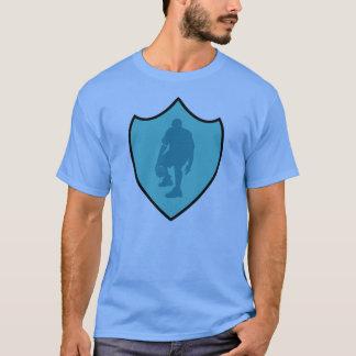 J-MO-NET 3 POINT SHIELD BLK/LT_BLU T-Shirt