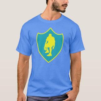J-MO-NET 3 POINT SHIELD GLD/BLU T-Shirt