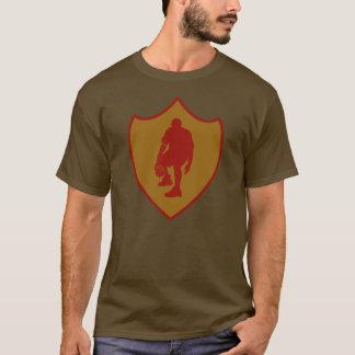 J-MO-NET 3 POINT SHIELD RED/GLD T-Shirt