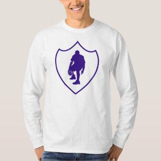 J-MO-NET 3 POINT SHIELD WHT/DK_BLU T-Shirt