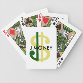 J Money Playing Cards