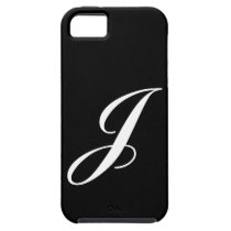 J Monogram iPhone 5 Case