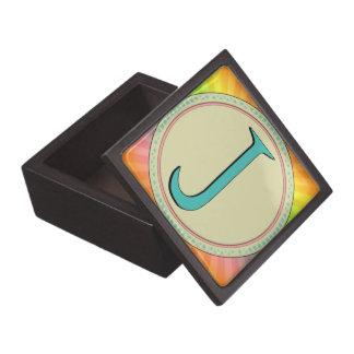 J MONOGRAM LETTER PREMIUM GIFT BOX