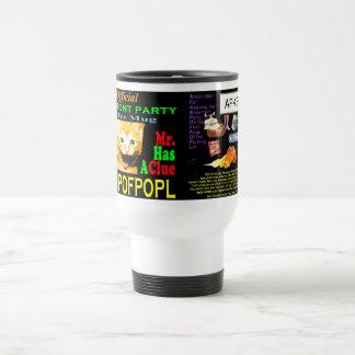 J: Mr.HasAClue Coffee Mug