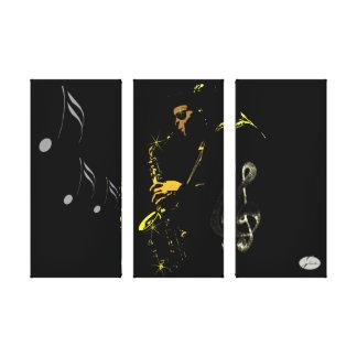 J Nicardor Jazz Canvas