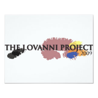 J. Ovanni Project 2009 Card