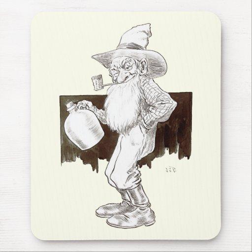 J P Bernard Moonshiner (Sepia) Mouse Pad