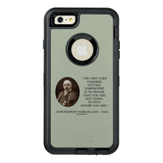 J.P. Morgan First Step Towards Getting Somewhere OtterBox Defender iPhone Case