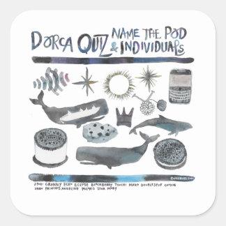 J Pod Dorca Quiz Stickers