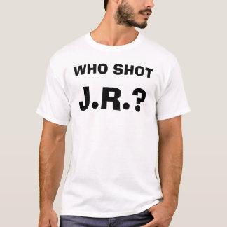 J.R.?, WHO SHOT T-Shirt