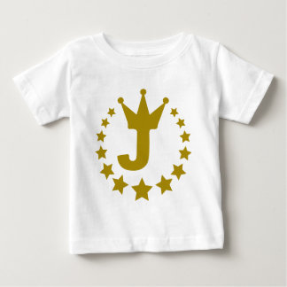 J-real-stars-crown.png Baby T-Shirt