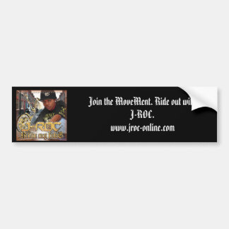 """J-ROC """"Join the Movement"""" Bumber Sticker"""