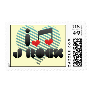 J Rock fan Postage